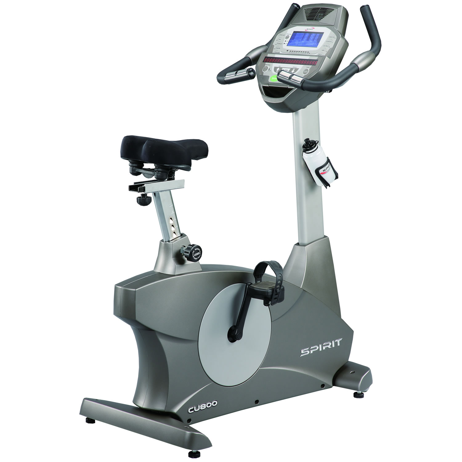Spirit CU800 Upright Club Series Exercise Bike_A_SS-1